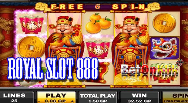 Royal slot 888